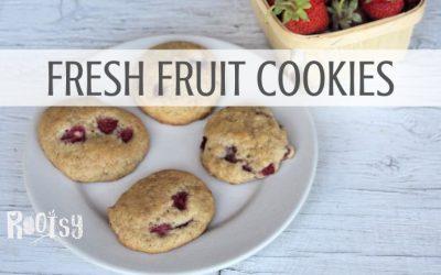 Fresh Fruit Cookies