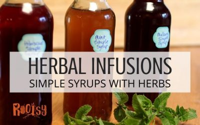 Herbal Infusions: Homemade Simple Syrups With Herbs