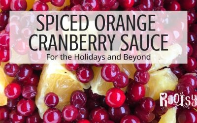 Spiced Orange Cranberry Sauce Recipe